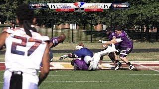 2018 A7FL Championship Baltimore Gators vs Baltimore Vikings - Football Highlights