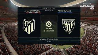Atletico Madrid vs Athletic Bilbao - Wanda Metropolitano - 2018-19 La Liga - FIFA 19