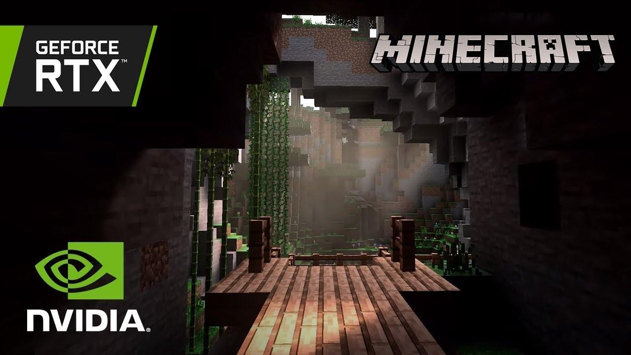 Minecraft RTX - RTX On/Off Gameplay
