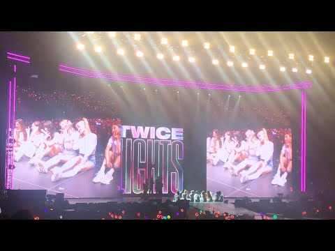 TWICE speaks with fans (JEONGYEON gets emotional) @ TWICELIGHTS World Tour: Los Angeles (7/17/19)