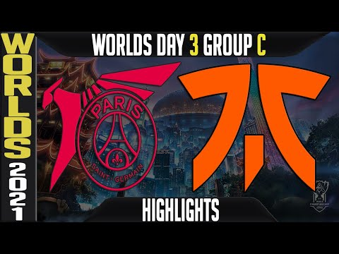 PSG vs FNC Highlights   Worlds 2021 Day 3 Group C   PSG Talon vs Fnatic