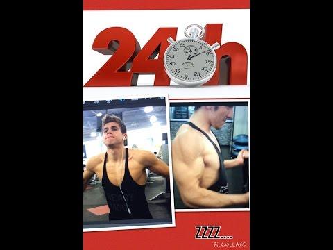 INSANE 24HR GYM CHALLENGE! RICH PIANA 8hr ARM CHALLENGE X3 by Zep E