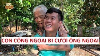 Mơ ước có ông ngoại của Khương Dừa bị bà ngoại 95 tuổi từ chối!!!