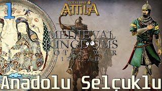 YENİDEN ANADOLU SELÇUKLU #01 [LEGENDARY] - Medieval Kingdoms 1212 AD Total War: Attila [TÜRKÇE]