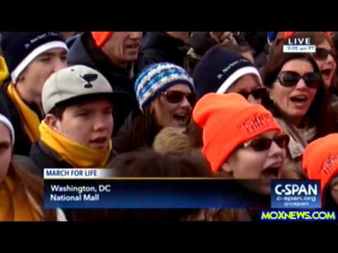"44th Annual ""March For Life"" On The National Mall In Washington, D.C."