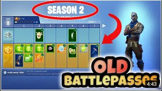 How To Get Back *OLD* Battle Passes! (Season 2) Fortnite Hack