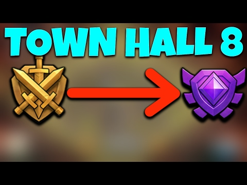 TOWN HALL 8 PUSH TO CRYSTAL LEAUGE | ROAD TO CRYSTAL LEAGUE Clash Of Clans