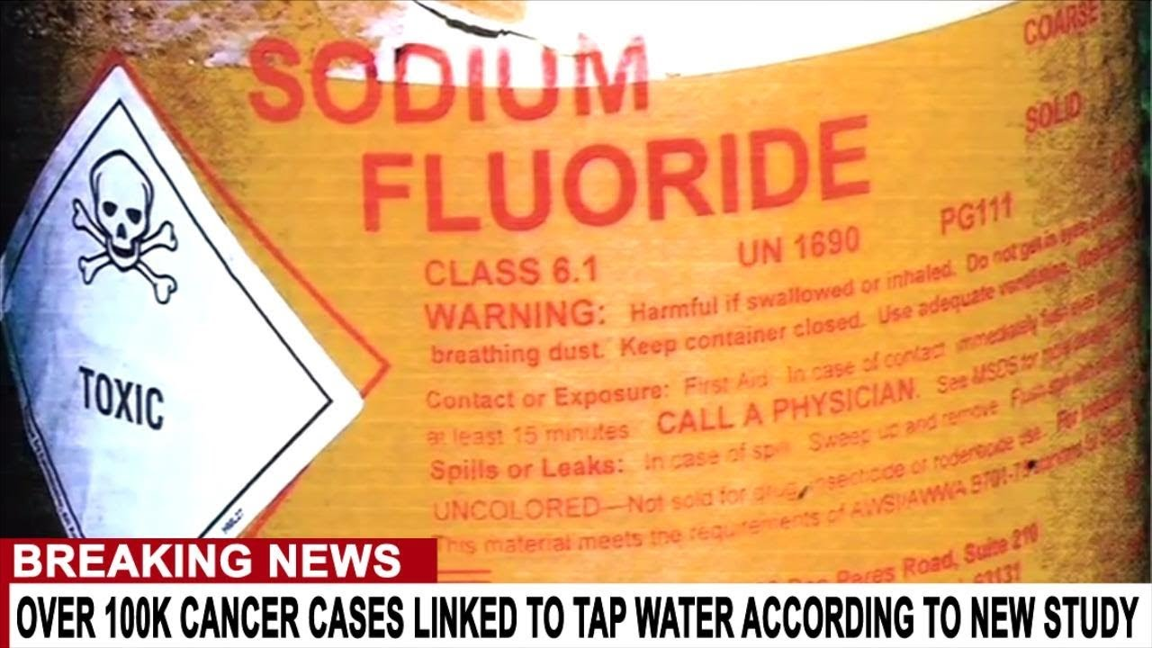 BREAKING: 100K CANCER CASES LINKED TO TAP WATER EVERY YEAR ACCORDING TO NEW STUDY
