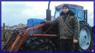 Обзор КУНа на Трактор Т 40 от Maksim TechnikPRO