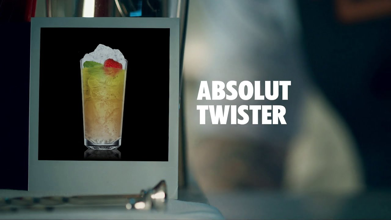 Absolut Twister Drink Recipe How To Mix Youtube