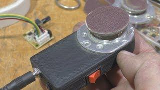 Микрошлифовалку печатаем на 3Д.