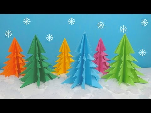 How to Make a Paper Christmas Tree | 3D Paper Christmas Tree