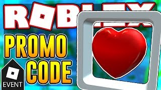 NEW PROMO CODE FOR THE HOVERING HEART | Roblox