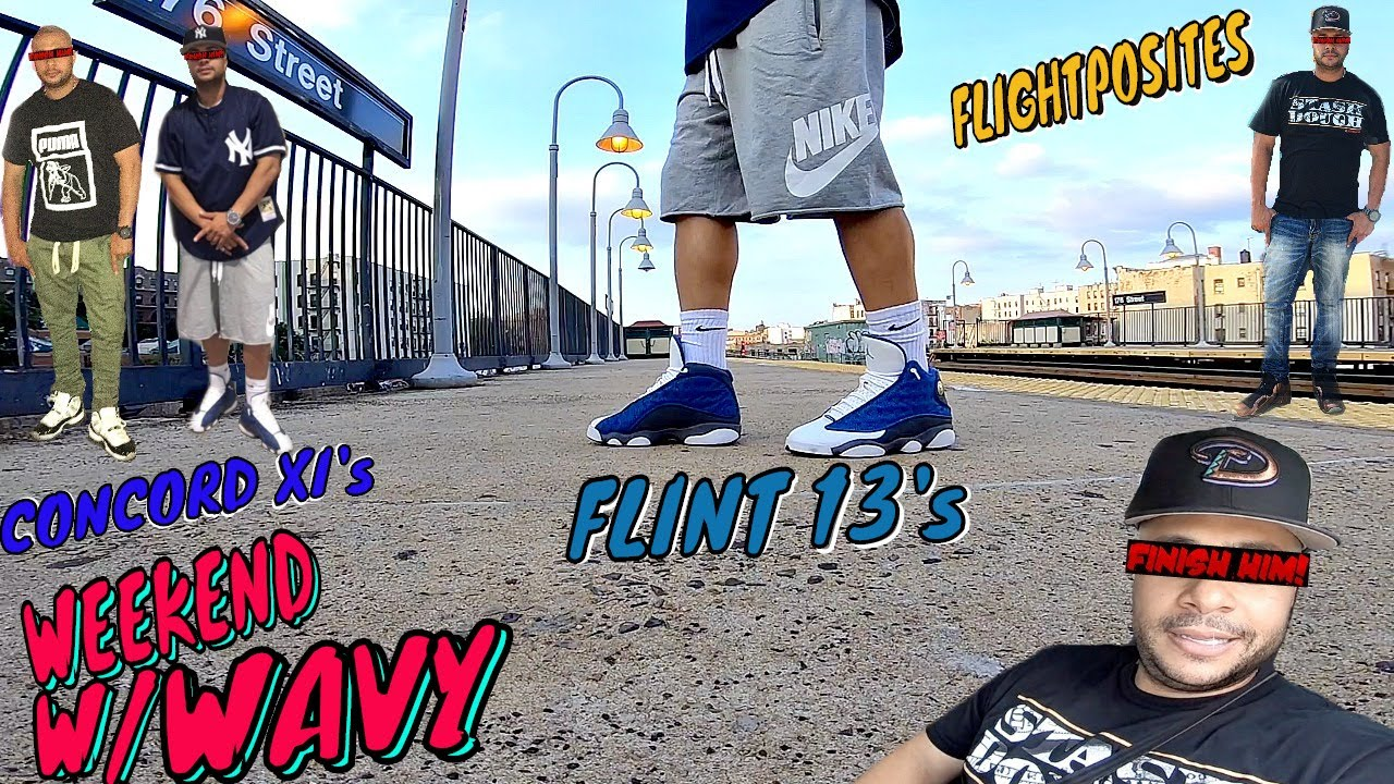 Which Outfit Wins Jordan Flint 13 Yankee Fit Flightposites To Chill Concord Xi To Bridge Youtube