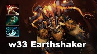 w33 1-shot imba Earthshaker 7000 MMR EU Dota 2. w33 official stream...