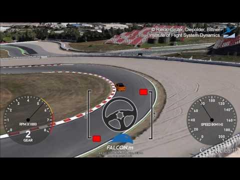 FALCON.m - Race Track Minimal Lap Time
