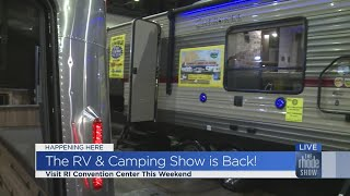 25th Annual Rhode Island RV Camping Show returns to Providence