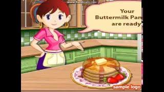 Игра: Сара готовит блины.
