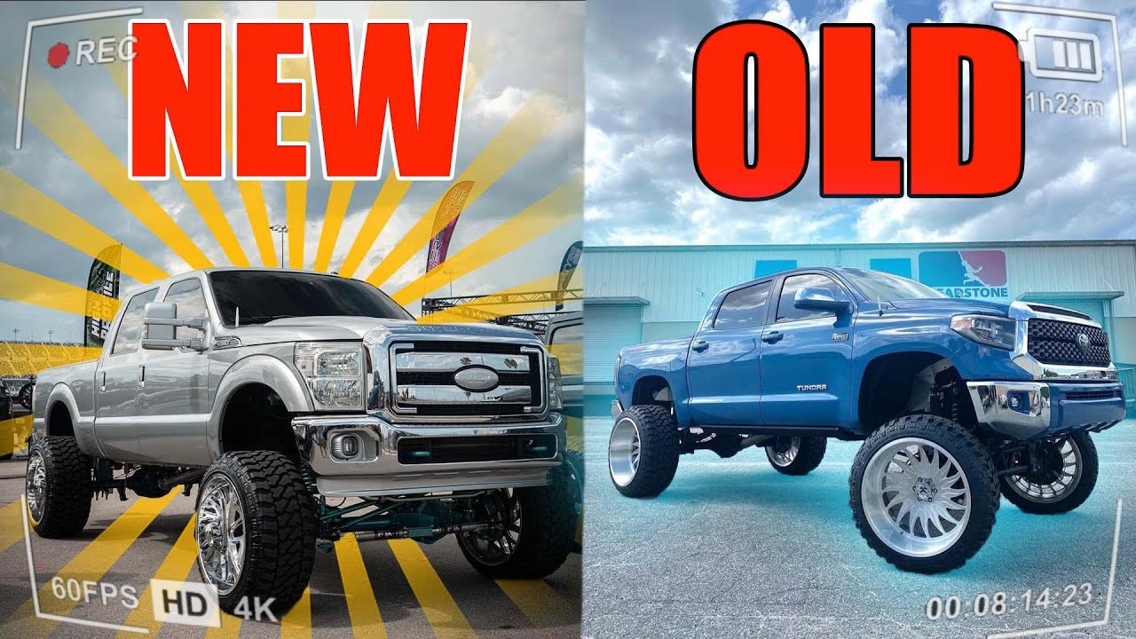 Jeremy BOUGHT A NEW TRUCK!! 2016 FORD F-250 FULLY BUILT 26x16 KG1! The famous TUNDRA is SOLD ...