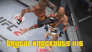 EA Sports UFC 2 - Best Brutal Knockouts Compilation #16