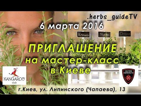 ПРИГЛАШЕНИЕ на мастер-класс в Киеве 06 марта 2016