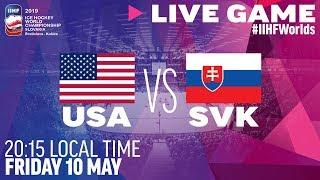USA vs. Slovakia | Full Game | 2019 IIHF Ice Hockey World Championship