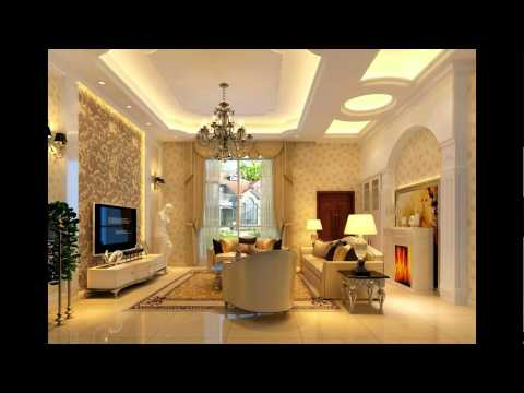 Ceiling designs living room youtube for Liane v living room