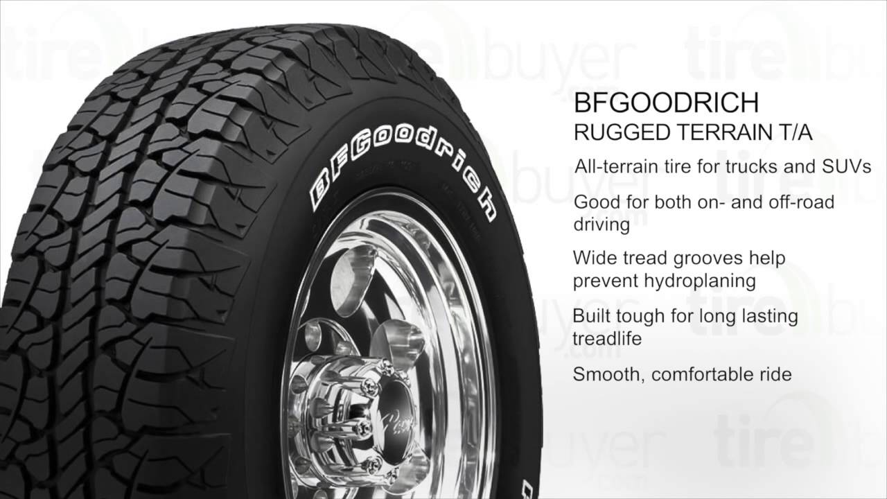 Bf Goodrich Rugged Terrain T A
