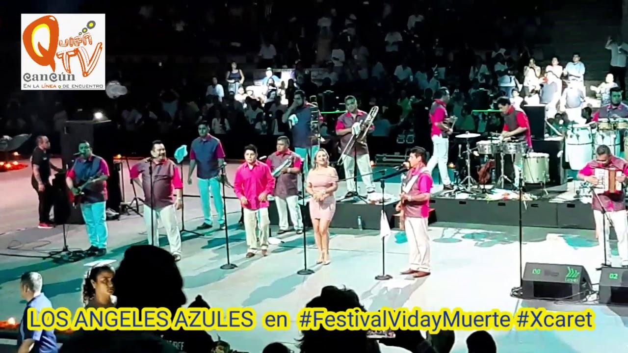 Los Angeles Azules En El Festivalvidaymuerte Xcaret Youtube