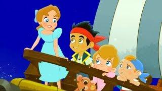 Джейк и Пираты - Волшебная книга (ТВ версия) | Мультфильм Disney