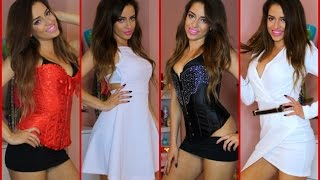 TRY ON HAUL: Lingerie, Fashion Nova, Romwe, Makeup & More!