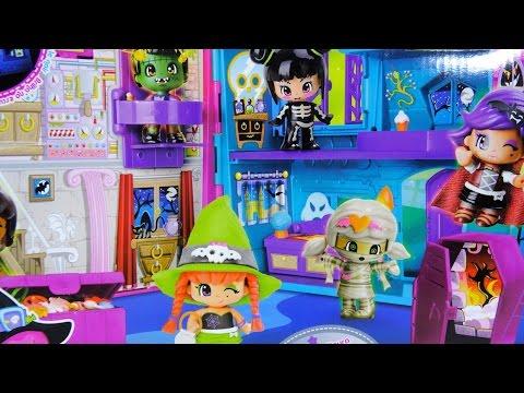 Pinypon Pinymonsters Casa del Terror Halloween - Juguetes de Pinypon