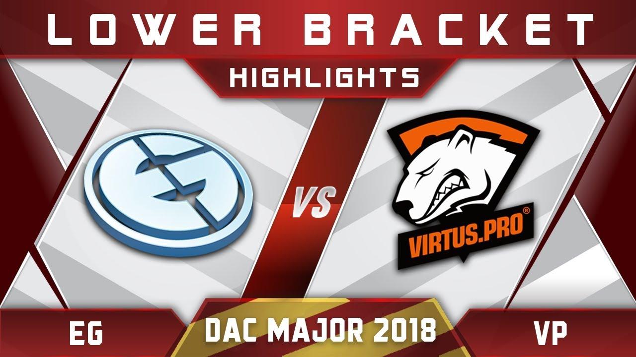 EG Vs VP Elimination DAC 2018 Major Highlights Dota 2