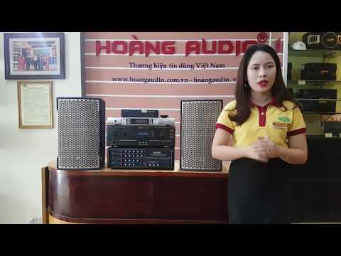 Mẫu loa karaoke chuyên nghiệp mới nhất 2018 cho bộ karaoke gia đình chuẩn - 090.8686.098 Hoàng Audio