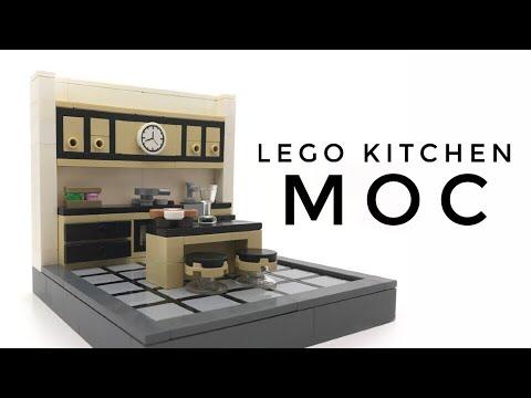 LEGO Kitchen MOC // Amazing Building Technique - YouTube