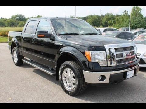 2011 ford f 150 lariat used pickup truck for sale marshall ford o 39 fallon mo youtube. Black Bedroom Furniture Sets. Home Design Ideas