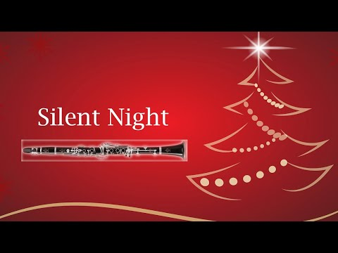 Christmas Carols - Silent Night - Clarinet Cover and Play Along