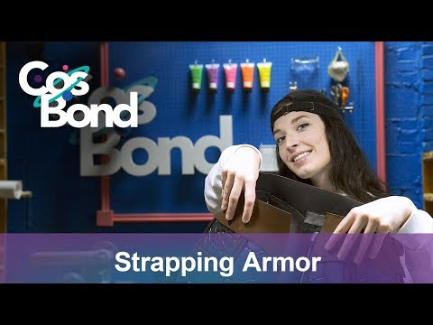 Strapping and Attaching Foam Cosplay Armor - Astrid's Armor