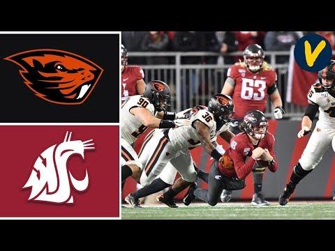 Oregon State Vs Washington State Highlights | Week 13 | College Football 2019
