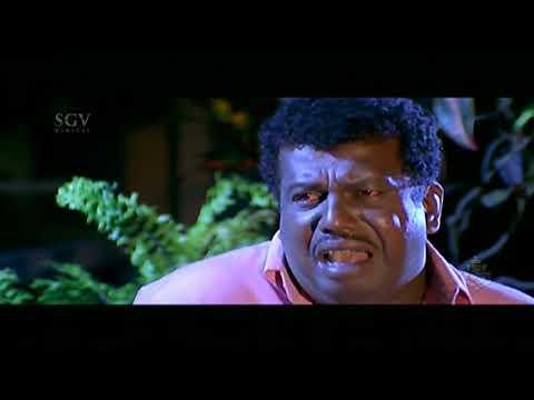 Kannada Scenes - Ganesh's Partake Shop Gets Burnt Kannada Scenes |  Chellata Kannada Movie