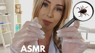 ASMR Lice Check Roleplay Treatment and Removal by Caring School Nurse
