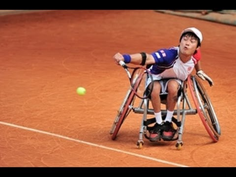 Wheelchair tennis highlights - London 2012 Paralympic Games