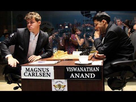 Матч за звание чемпиона мира по шахматам: Ананд - Карлсен - Видеообзор 1 партии