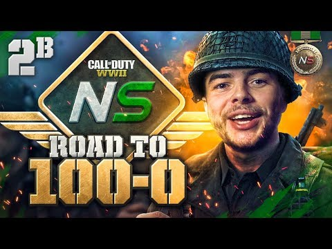 Road to 100-0! - Ep. 2B - Mboze Going Pro? (Call of Duty:WW2 Gamebattles)