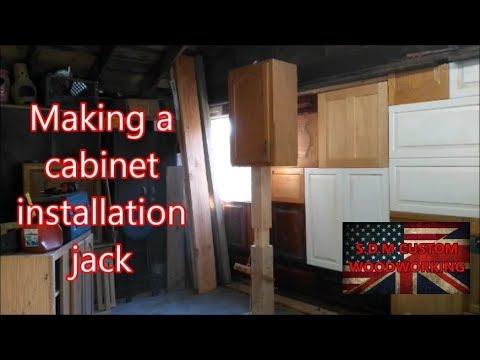 Making A Cabinet Installation Jack