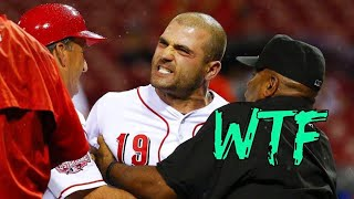 Joey Votto getting Pissed Off