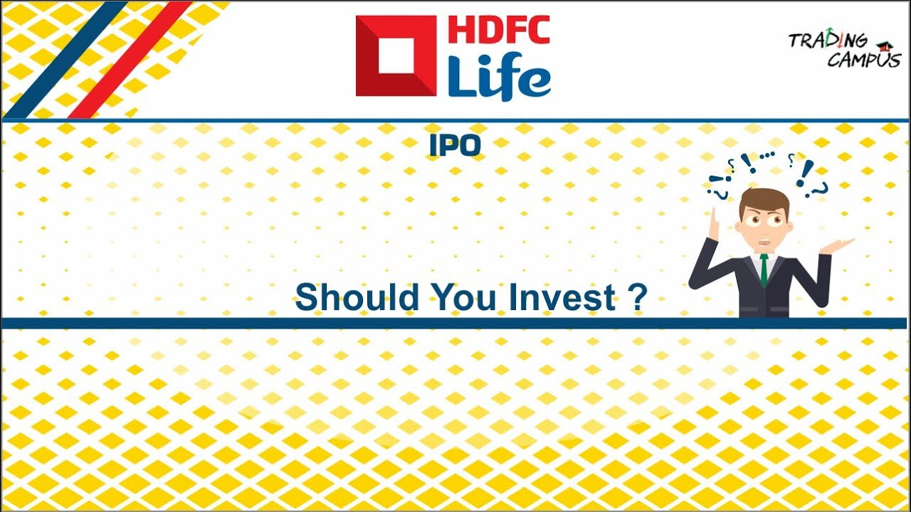 hdfc life insurance ipo chittorgarh