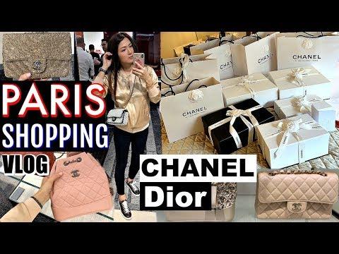 PARIS PART 2 SHOPPING VLOG - CHANEL, DIOR, LV | CHARIS IN PARIS 💕