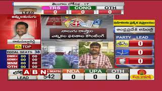 Election Counting Updates from Vijayawada Polling Centres | ABN Telugu
