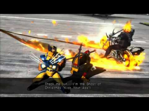 Request Ultimate Marvel vs Capcom 3 (Deadpool, Wolverine, Ghost Rider)  